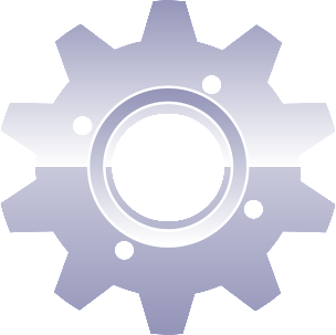 A cog, since an engine doesn't quite convey the kernel visually