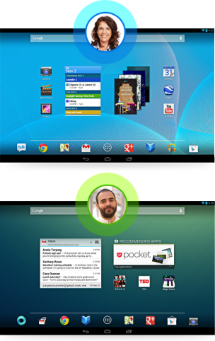 Android 4.3 multi-user