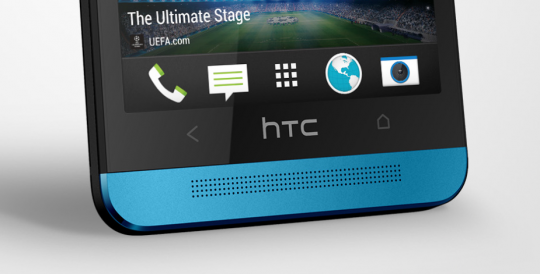 Blue HTC One 2