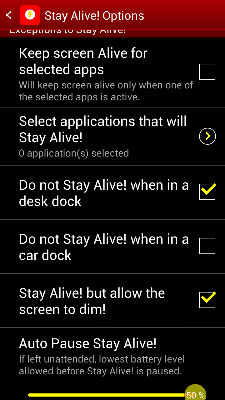 Stay Alive!