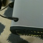 Jabra Solemate Max charging port strangely on front