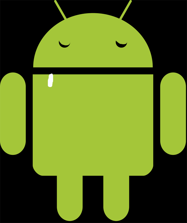 Sleeping Android