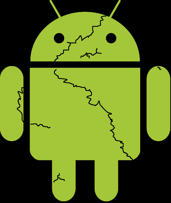 broken android by Paul King and MS. Paint