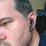 Jabra STEALTH Bluetooth Headset in some guy's ear