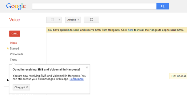 Google Voice integration 3
