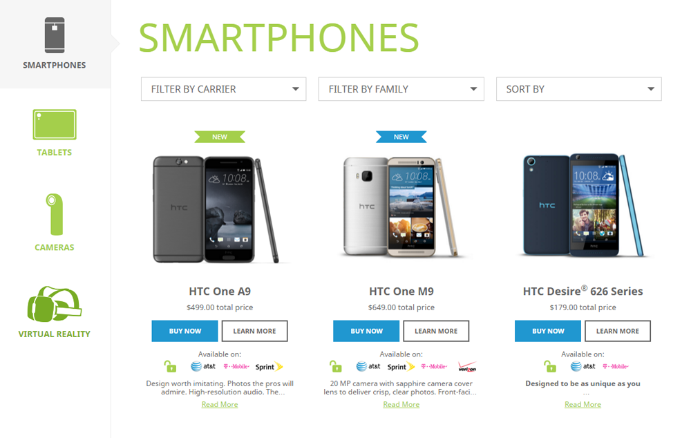 HTC Deals Nov 10 2015