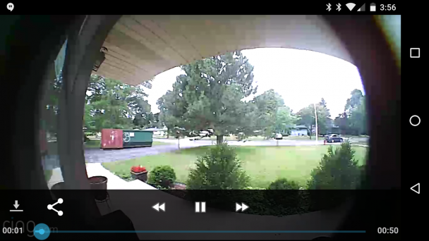I have twenty-two 50-second videos of cars driving past my house from today.