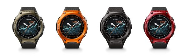 Casio WSD-F10 Models