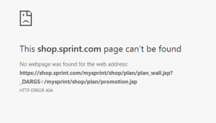 sprint can't be found