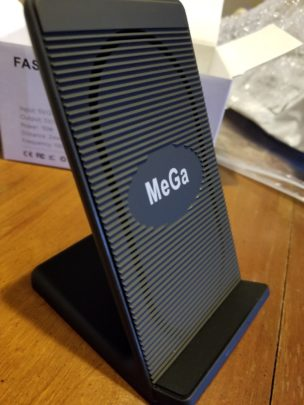 MeGa Fast Wireless Charger Charging Pad Stand review