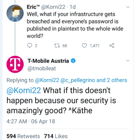 T-Mobile Austria Totally secure
