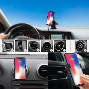 Dodocool 10W Fast Wireless Car Charging Dock