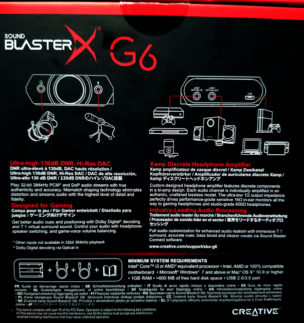 Sound BlasterX G6 7.1 HD Gaming DAC/External Sound Card review