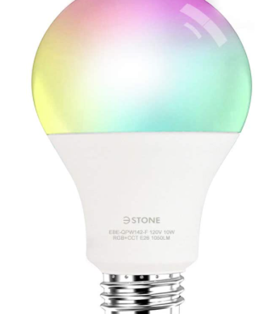 3stone Smart LED Color Changing Bulb