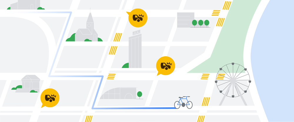 Google Maps Smoother Ride announcement