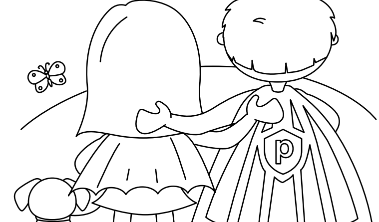 Proofpoint Cybersecurity Coloring Book