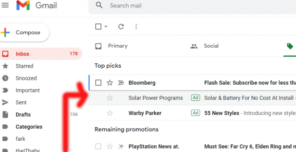 Fake emails in gmail
