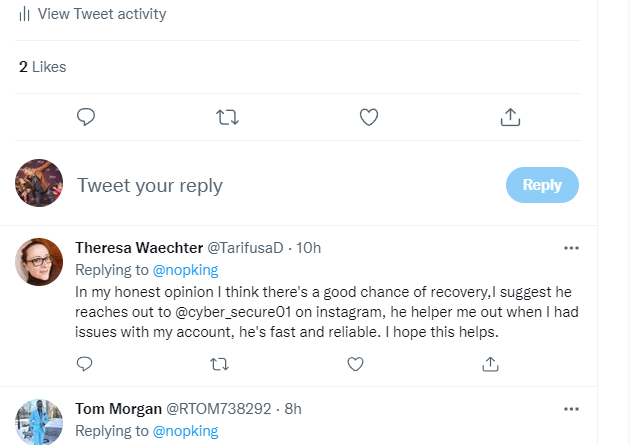 Twitter man, cryptoscammer central